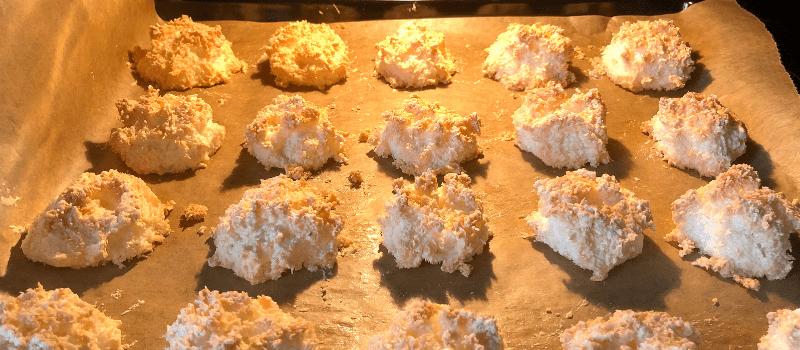 Kokosmakronen recept maken