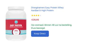 Opzet verkoop Easy Protein aardbei