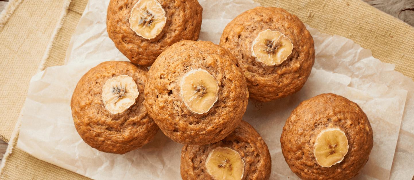 Bananen muffins gezond