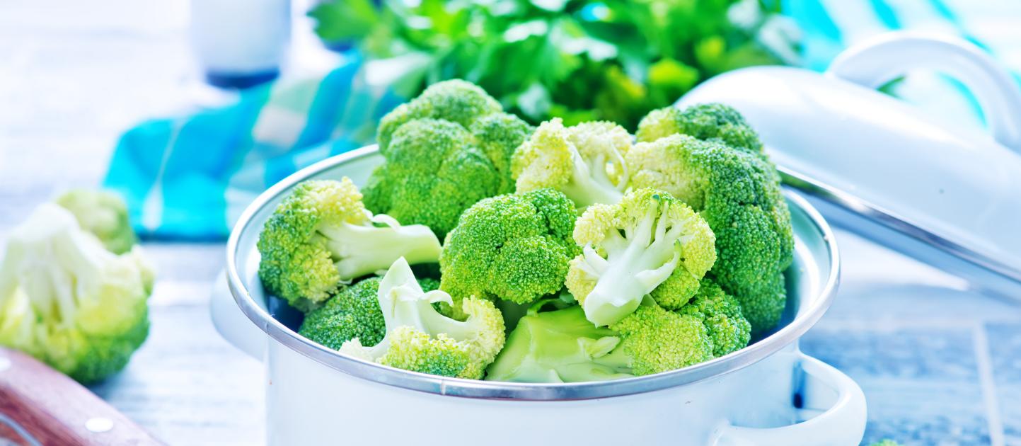 Broccoli vol met vezels