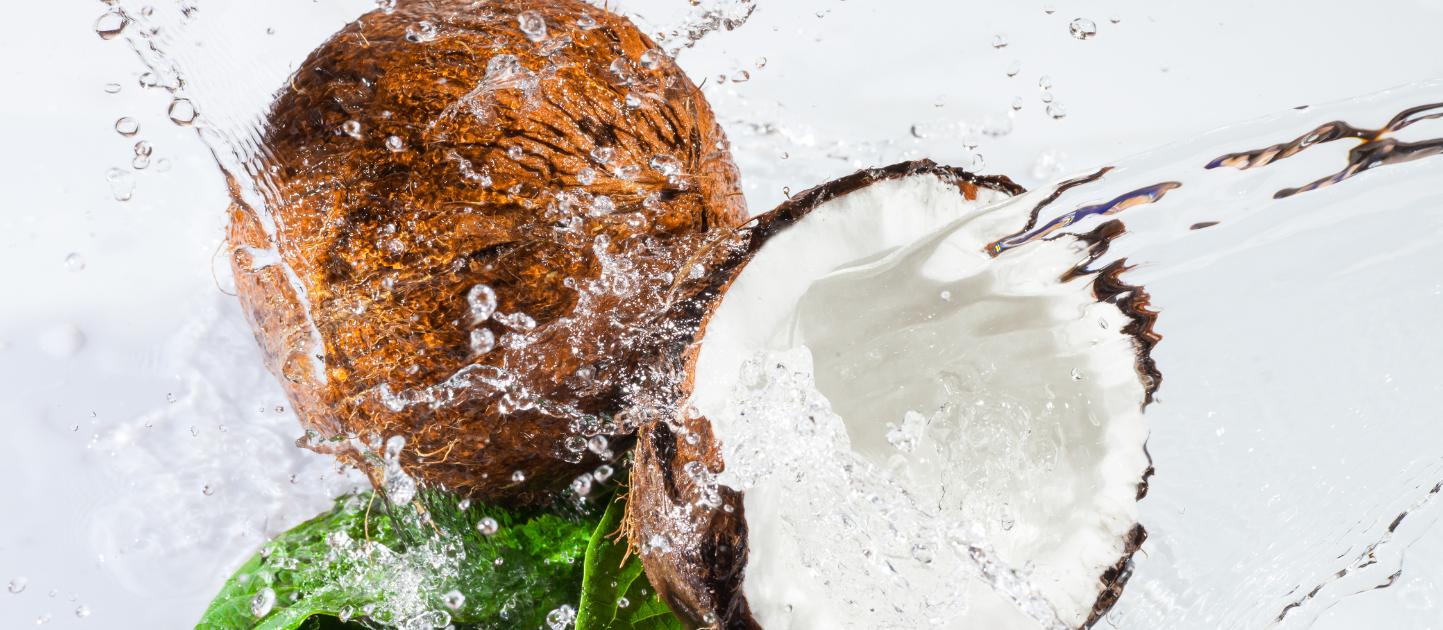 Kokos boordevol vezels en vitamines